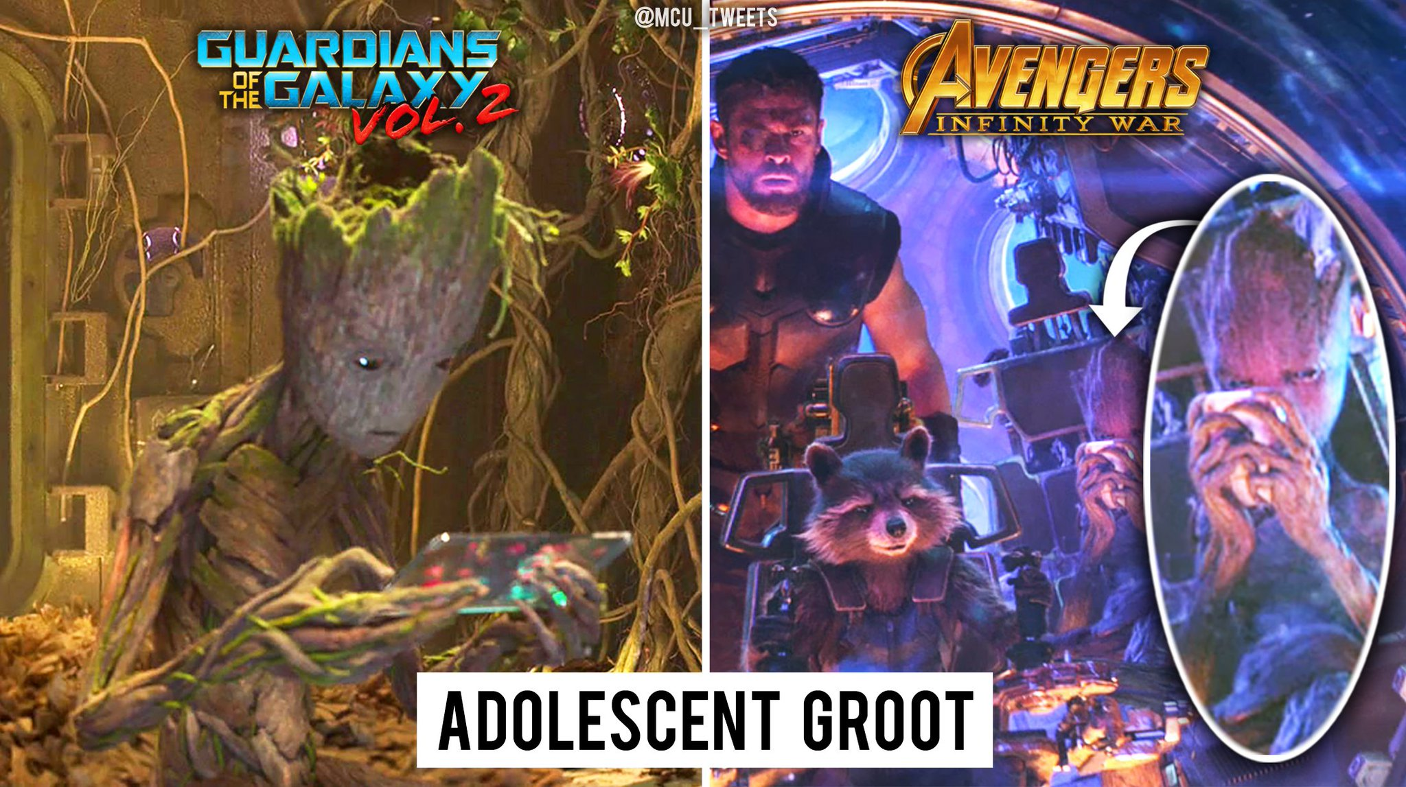 Groot may have a bit of an addiction... https://t.co/ZnOHJJ8GLe