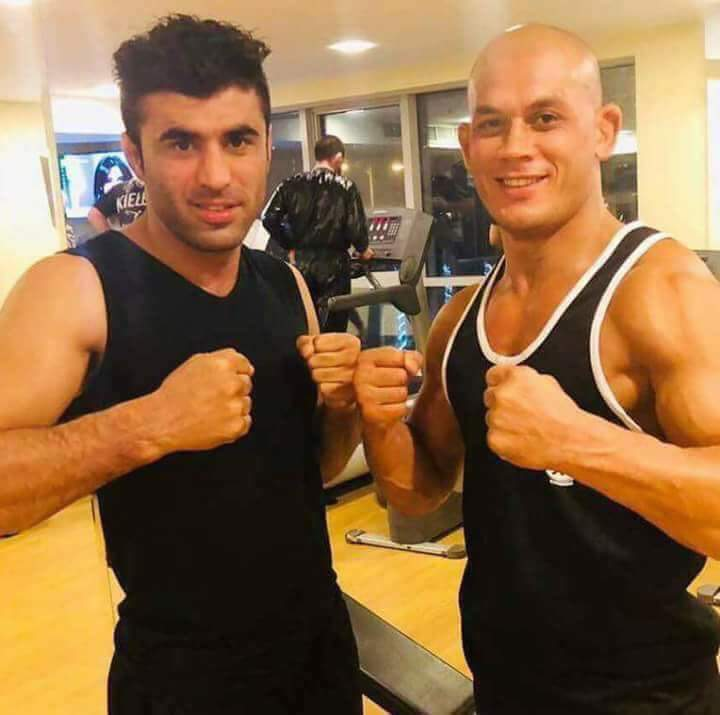 Congratulations to Afghanistans champions Ahmad Wali Hotak and Baz Mohammad Mubariz for defeating their #Ukrainian and #Scottish rivals in #MMA championship. The whole Afghan nation is so proud of you. I wish you good luck for your future competitions.