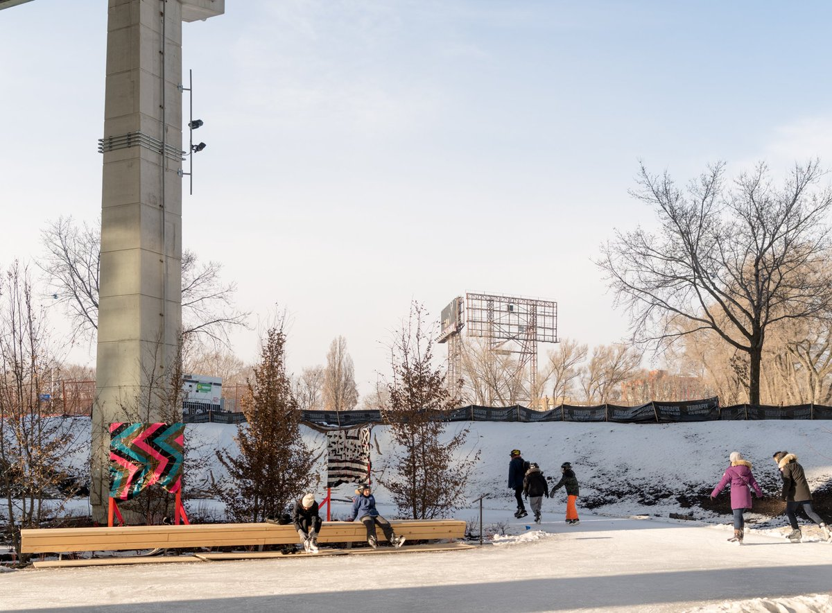 The Bentway on Twitter: