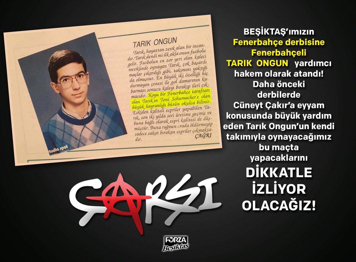 Fenerbahçeli Tarık Ongun, gözümüz üzerin...