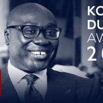Image for the Tweet beginning: Prix Komla Dumor : qui