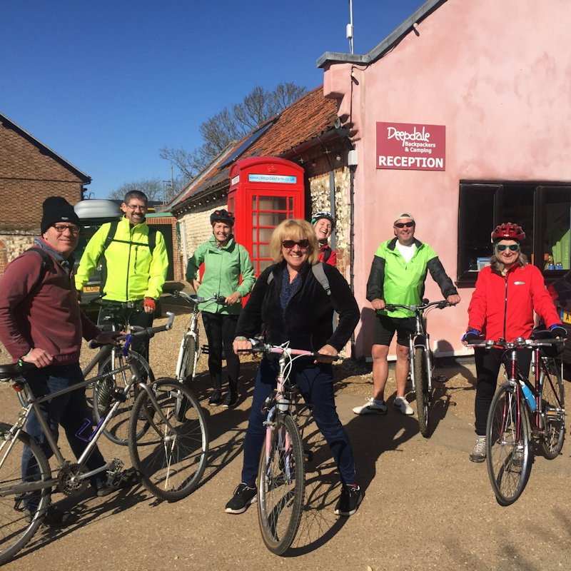 Finding your Deepdale Hygge #5: Guided Bike Ride with the Chris from the Deepdale Crew deepdalebackpackers.co.uk/hygge/ #hygge #lovenorthnorfolk #lovewestnorfolk #livemusic #deepdalehygge