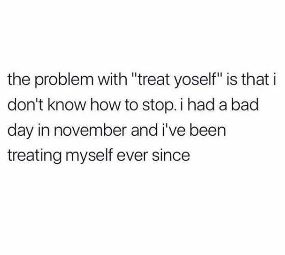 How often do U treat yourself??? https://t.co/pnELjJqQ21