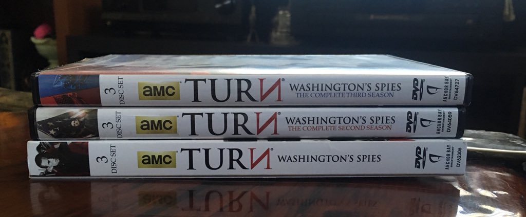 My collection of @TurnAMC DVDs is incomp...