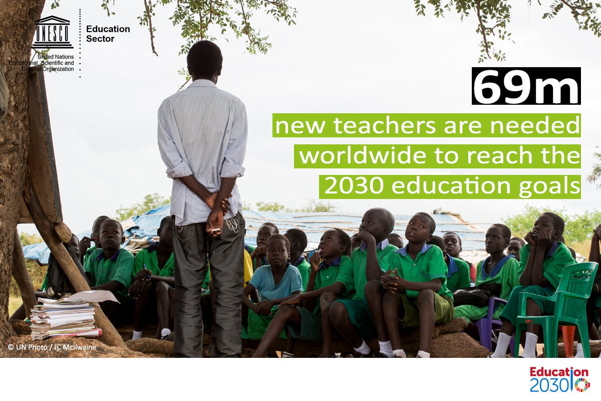 Is there safety in numbers?  📌263M children & young people are out of school 📌617M children & adolescents worldwide do not meet the min. threshold for literacy & maths 📌750M adults are illiterate  Let's make sure no one is left behind.  🔗 https://t.co/2N8uexhQRA#Education2030