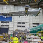 Check it out - Our 10,000 737 just got its wings!  This record setting airplane will be rolling out of the factory soon.  Stay tuned.  #737MAX  #Boeing https://t.co/5jPHun6Lqw
