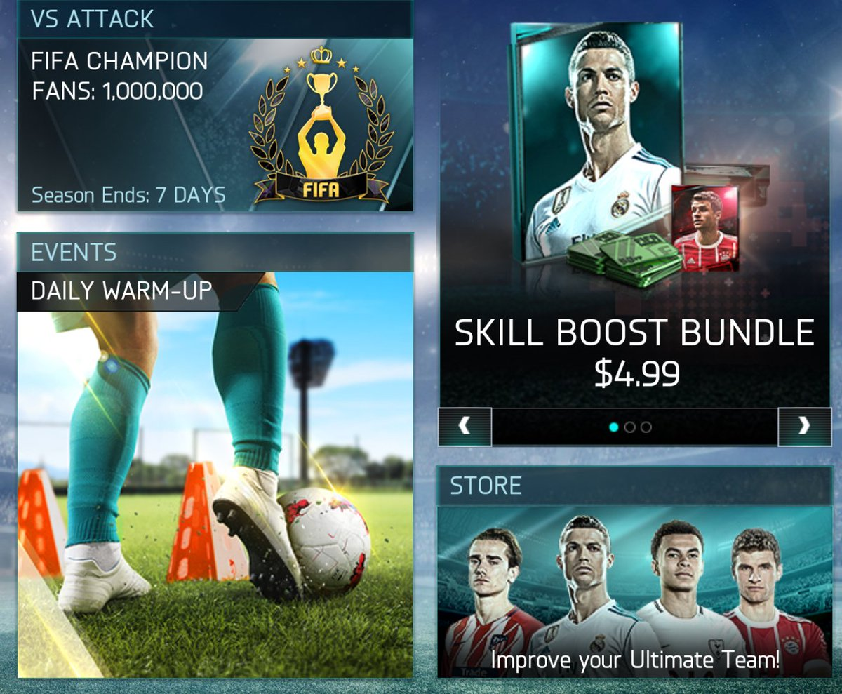 When daily warm-up is the event 😂 @EAFIFAMOBILE