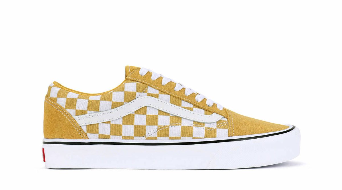 Kicksfinder On Twitter The Vans Old Skool Lite Checkerboard Yellow White Is Available Now For 65 Shipping At Loit Https T Co Awb5vkylnt Direct Link Https T Co Ldoeiqzj3o