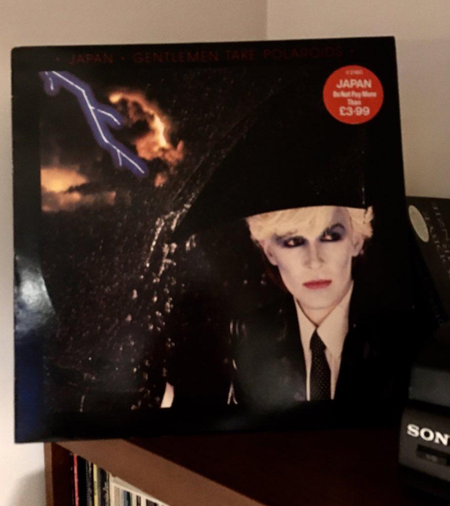 Happy birthday David Sylvian.  NP the gorgeous Nightporter from my favourite Japan album.