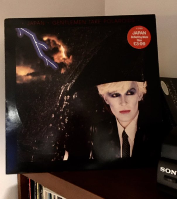 Happy birthday David Sylvian.  NP the gorgeous Nightporter from my favourite Japan album.