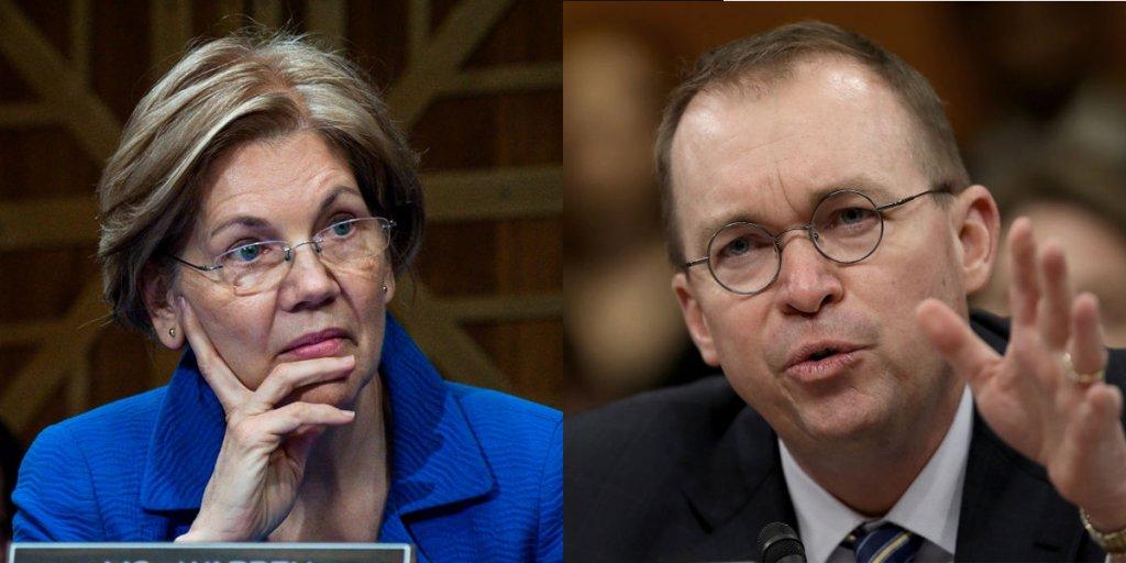 The fight between Elizabeth Warren and Trump's budget director is starting to get ugly https://t.co/HD60vdoCOP
