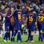 Image for the Tweet beginning: Barça : cinq joueurs poussés