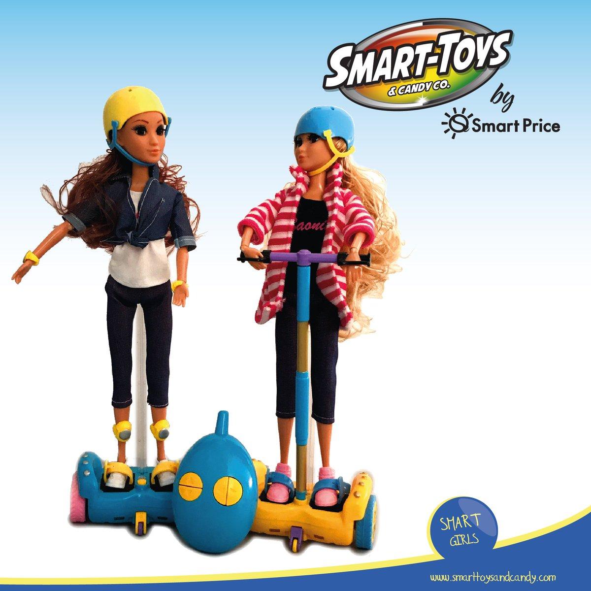 ¡Tus Smart Girls y tú se van a divertir como nunca, ya que traen su scooter que las llevará a todos lados! https://t.co/8KxJJ8INFh