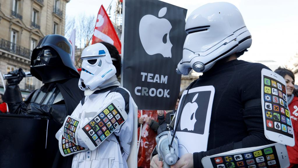 France: la justice refuse d'interdire à Attac d'occuper des magasins Apple https://t.co/iv86ZvKDDe