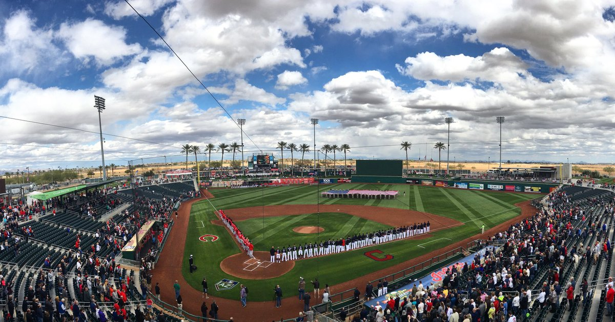 Let there be baseball.