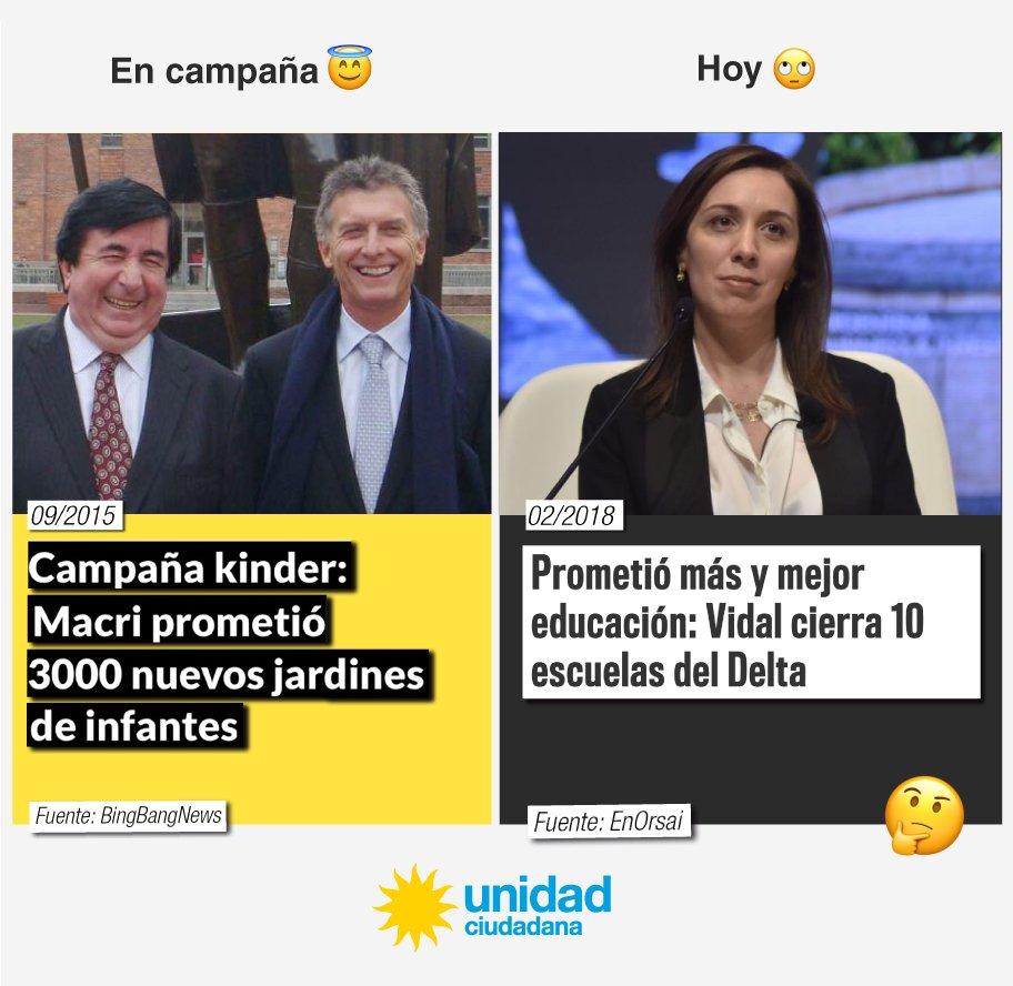 En campaña / Hoy  #VidalCierraEscuelas h...
