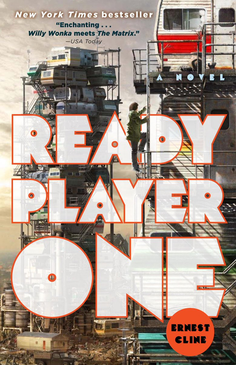 Join us for a discussion of #ReadyPlayer...