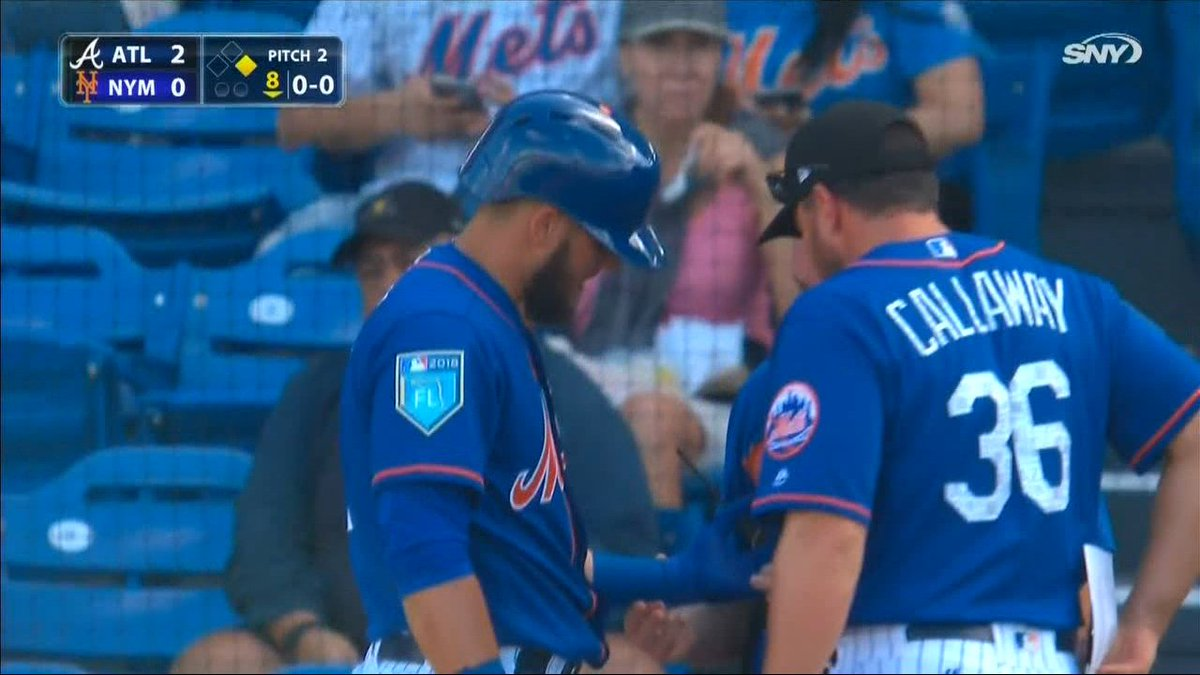 First day on the job and Mickey Callaway...