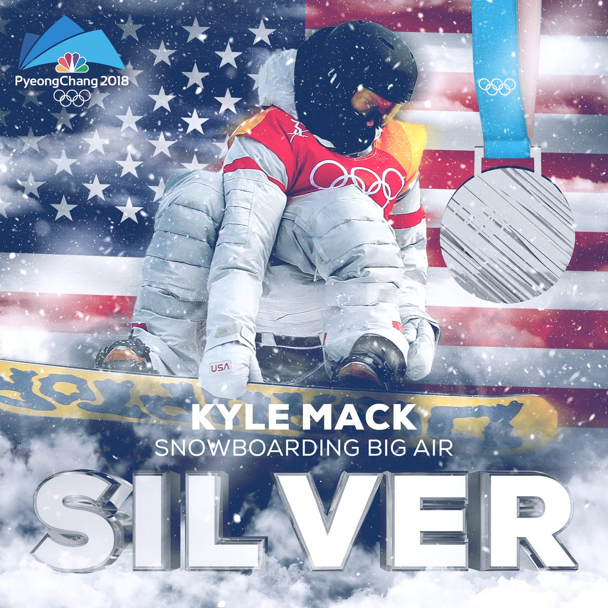 Kyle Mack wins his first Olympic medal,...