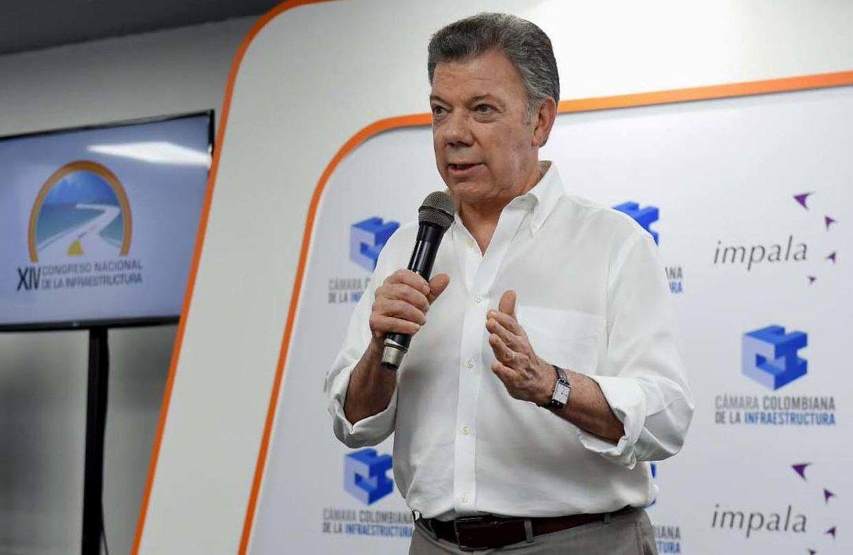 """Juan Manuel Santos: """"El pueblo venezolan..."""