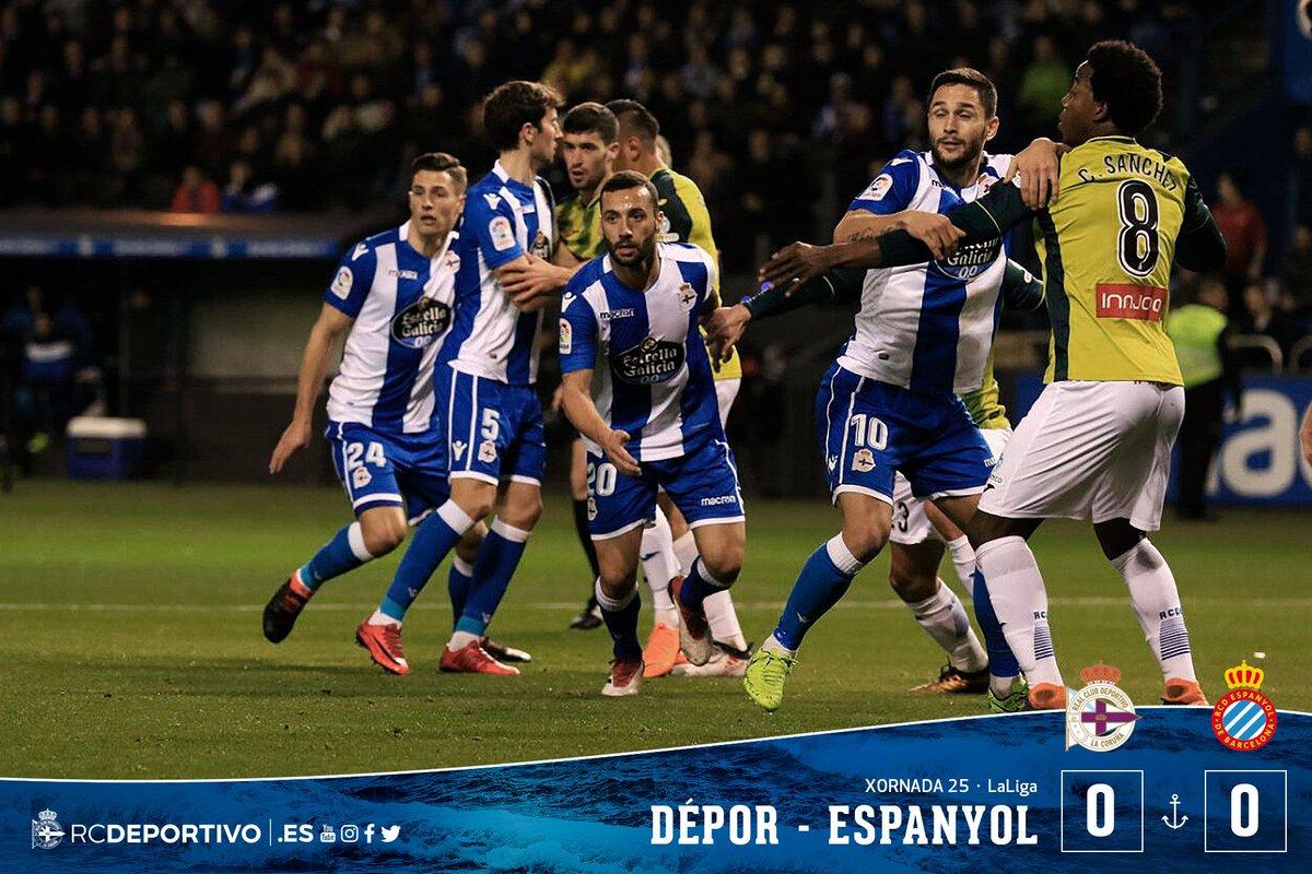 Deportivo La Coruna vs Espanyol: