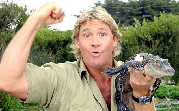 A little late but, happy birthday to one of my childhood hero s Steve Irwin