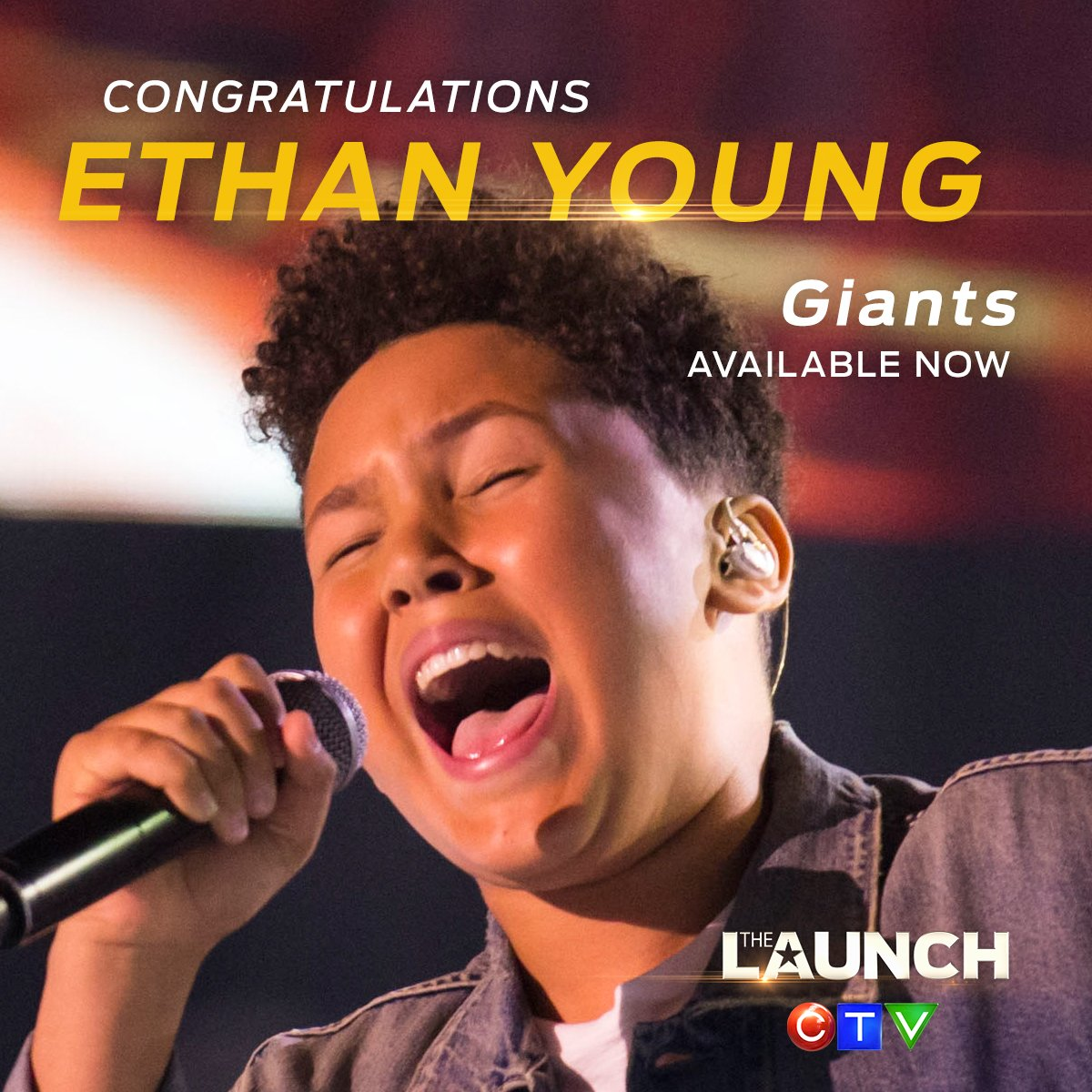 Not only was @ethanyoungmusic a chosen a...
