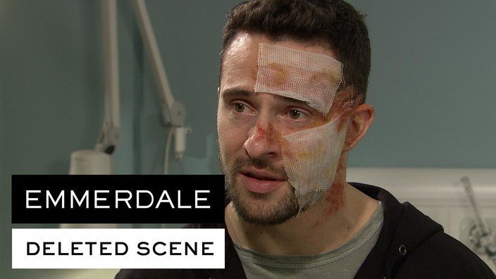 DELETED SCENE: Cain tells Ross his attacker can't be located...watch a clip now #Emmerdale  https://t.co/ocheowm82Z