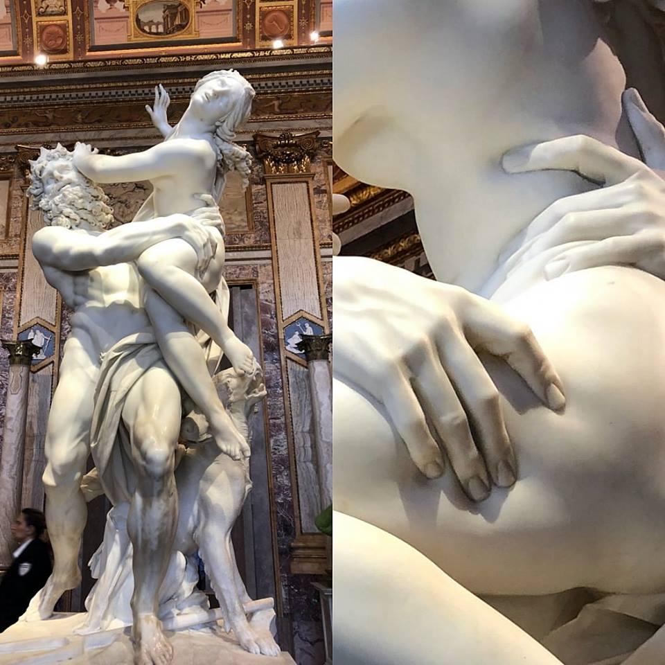 Giovanni Lorenzo Bernini 'The Rape of Pr...