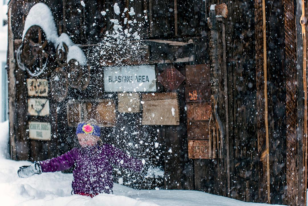 Following the signs and having a blast.  Telluride, Colorado. Photo: Tony Demin