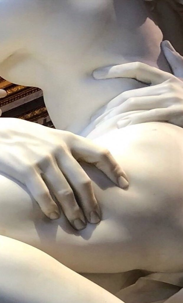 El rapto de Proserpina. Escultura en már...