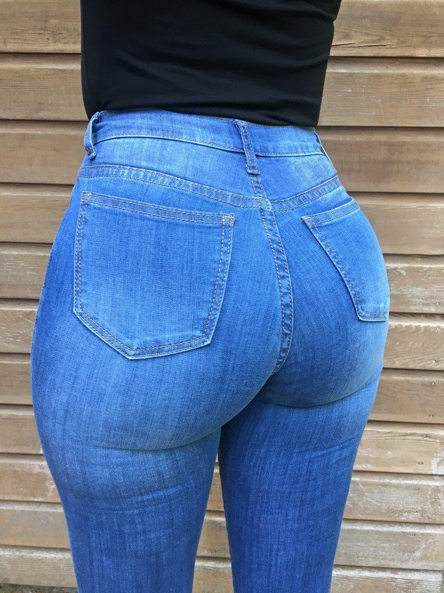 Sexy arsch in jeans