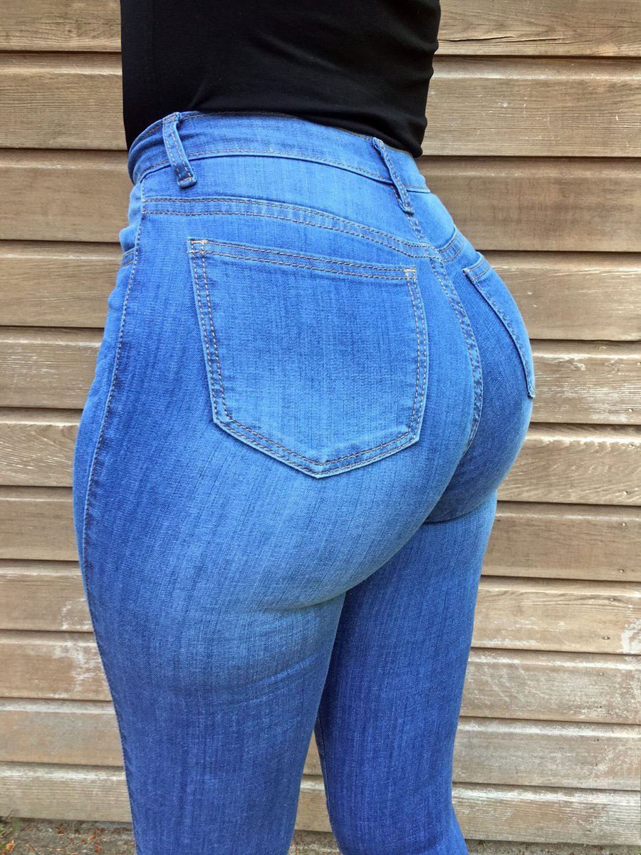 Girls in tight ass jeans