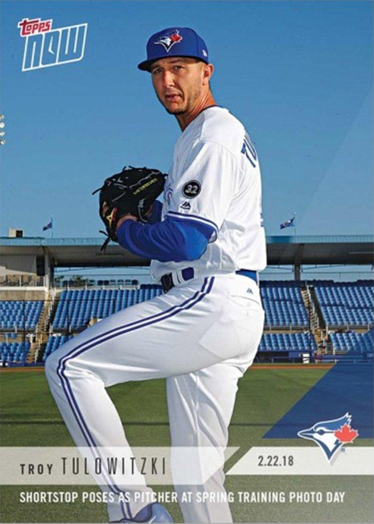 Troy Topps Troy Tulowitzki Pitcher Pose Baseball Card Thescore