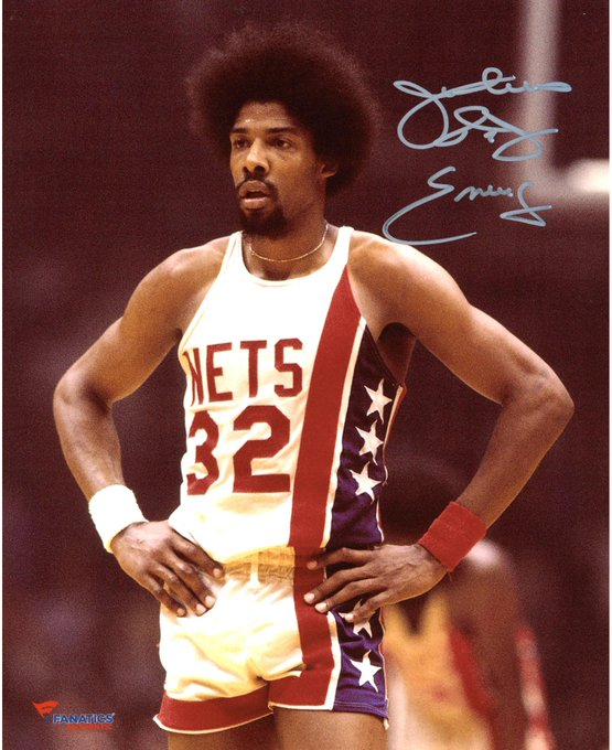 "Happy 68th Birthday to Julius ""Dr. J\"" Erving."