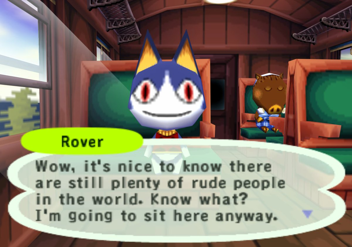 Image result for rude animal crossing