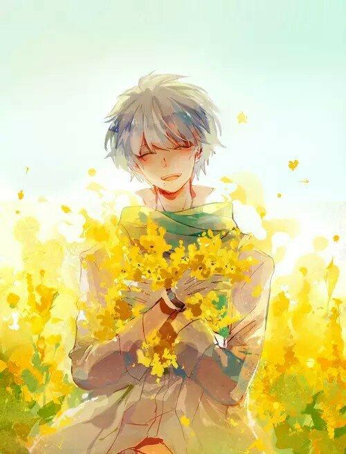 Violett On Twitter Yellow Boys Anime Kawaii