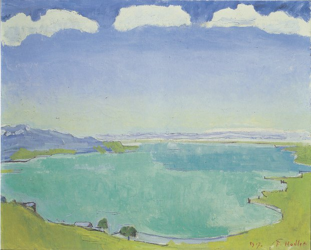 Lake Geneva from the Caux #postimpressio...