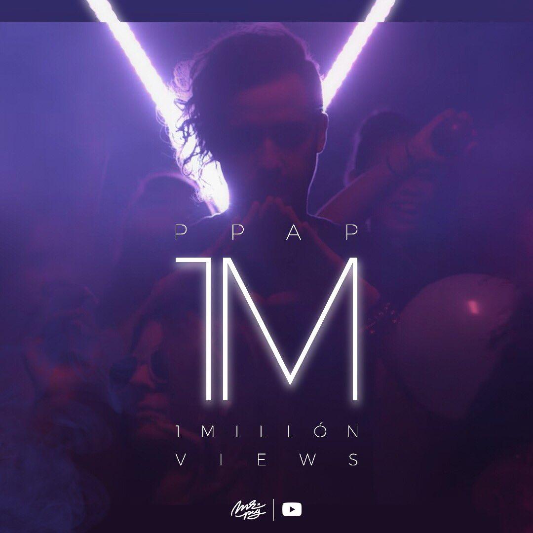 Pasamos el millón de vistas en YouTube...