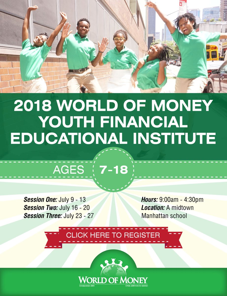 Youth Financial Education Training Institute Registration In New York City Is Open For Ages 7 To 18 Enrollment Link Tco MwwnpXiMFy