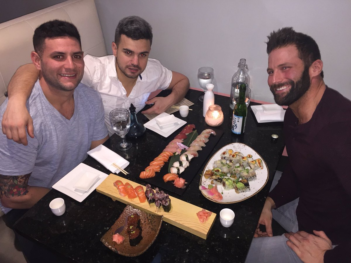 🍣 with my bros (real and fake)