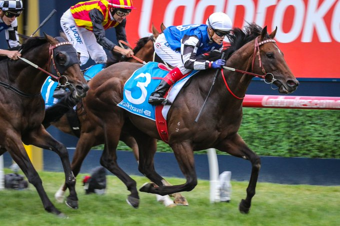 2018 Futurity Stakes: Brave Smash Does Just That