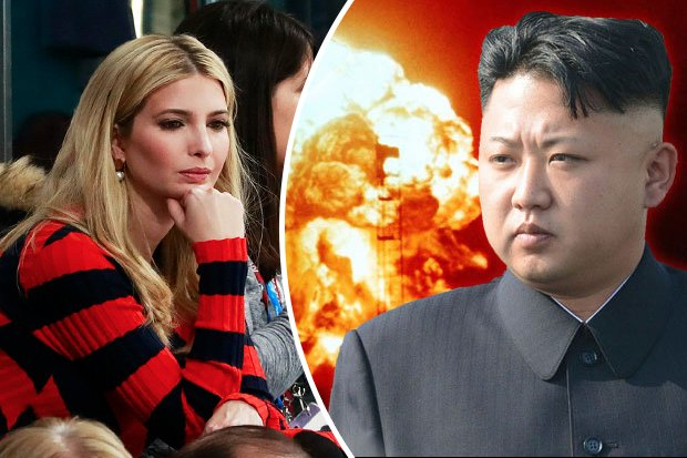 Ivanka Trump enjoys the Winter Olympics just miles from Kim Jong-un – and demands he DITCH nukes https://t.co/6r9xUcgXc4