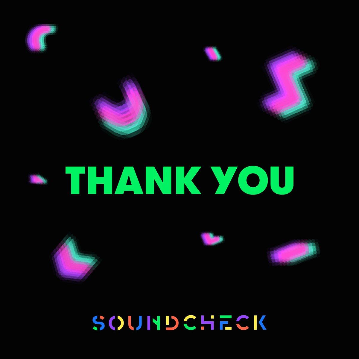 SOUNDCHECK PARTYに遊びに来てくれた皆様、ありがとうございました😈💚またすぐ会いましょう🙋♀️ #soundcheckjp #soundcheckparty https://t.co/gfnLWFqtkJ