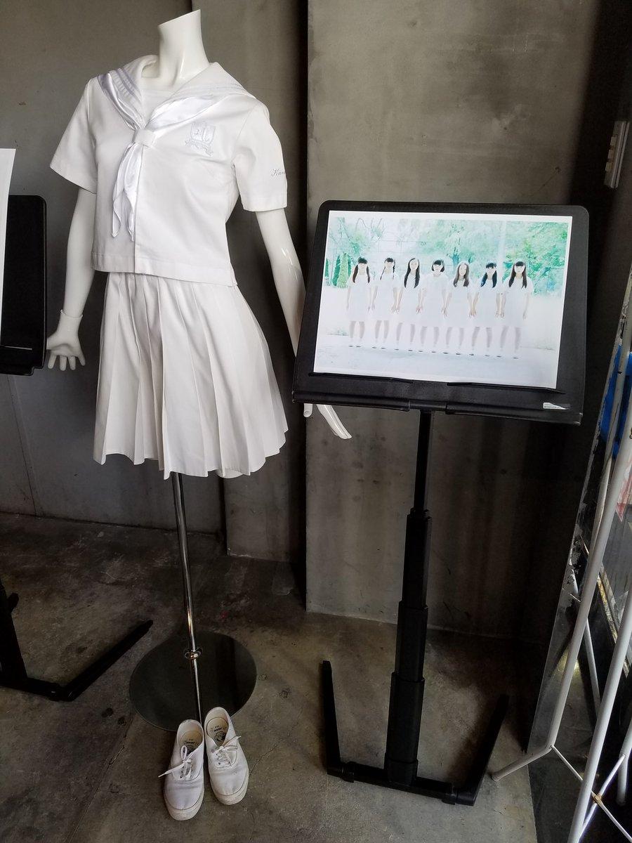 アイドルネッサンスの歴代衣装展示、素晴らしいです……!夏の決心がまいなちゃんのだ...