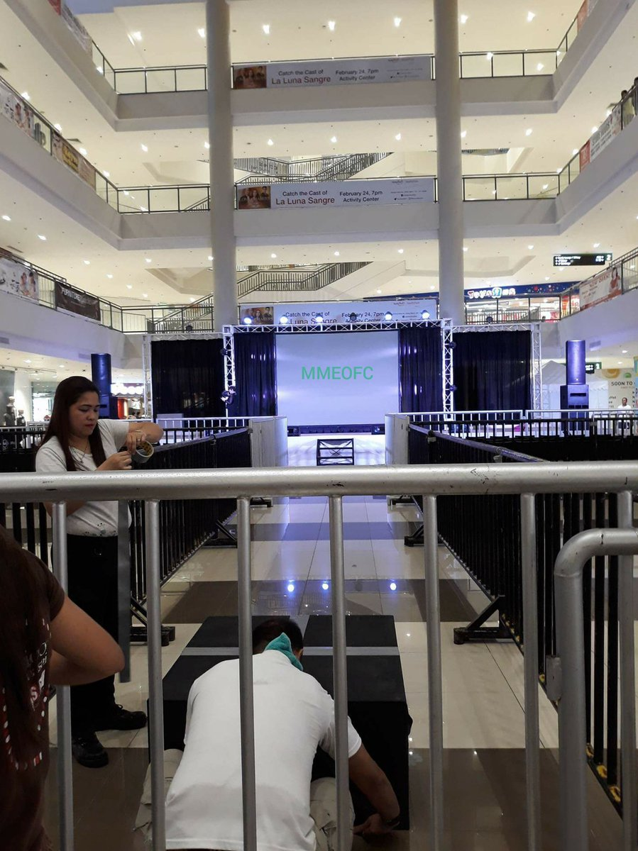 The stage is ready for #LLSPasasalamat s...
