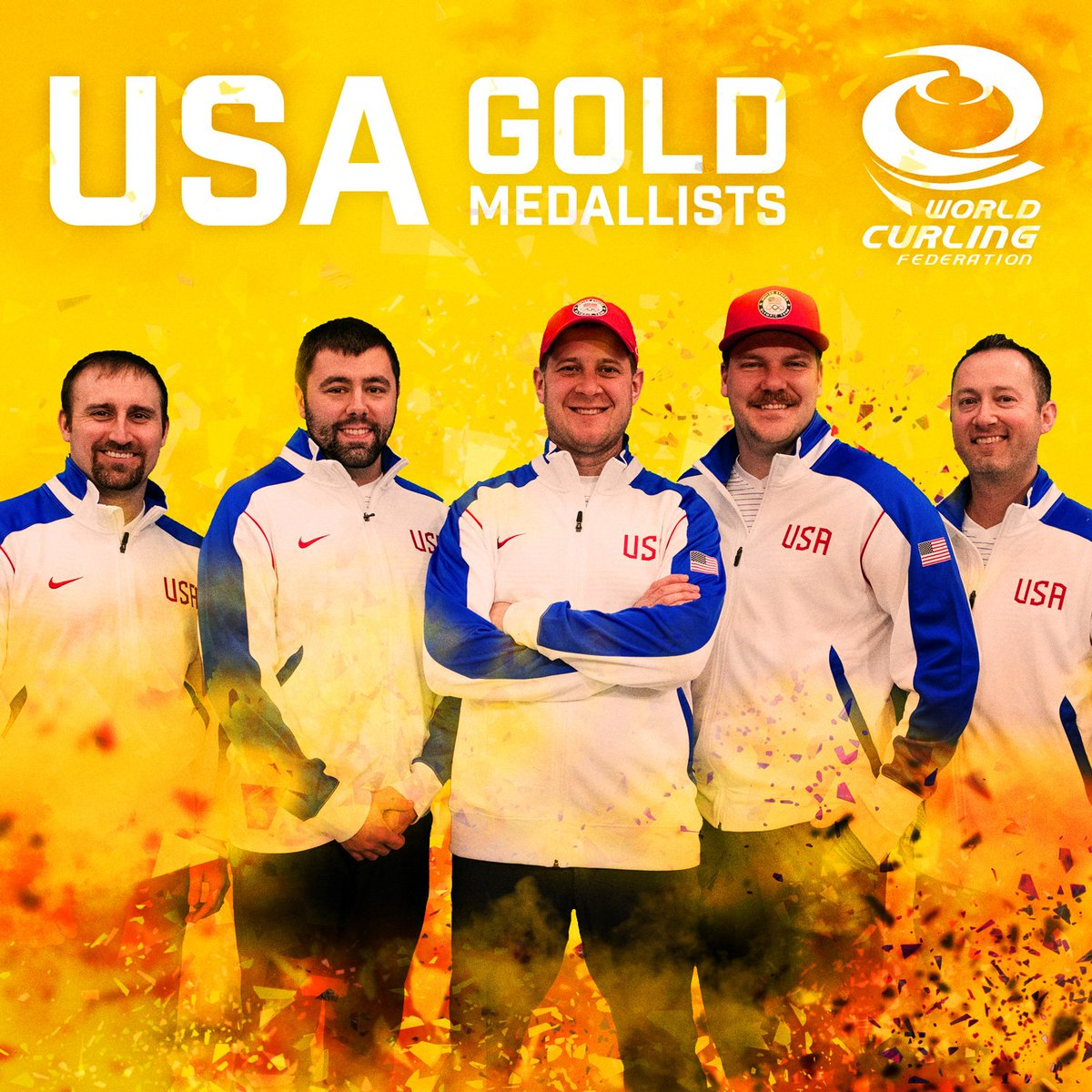 Congratulations @TeamShuster!  USA win the men's Olympic #gold medals  #curling #PyeongChang2018 #Olympics #USA @TeamUSA @usacurl