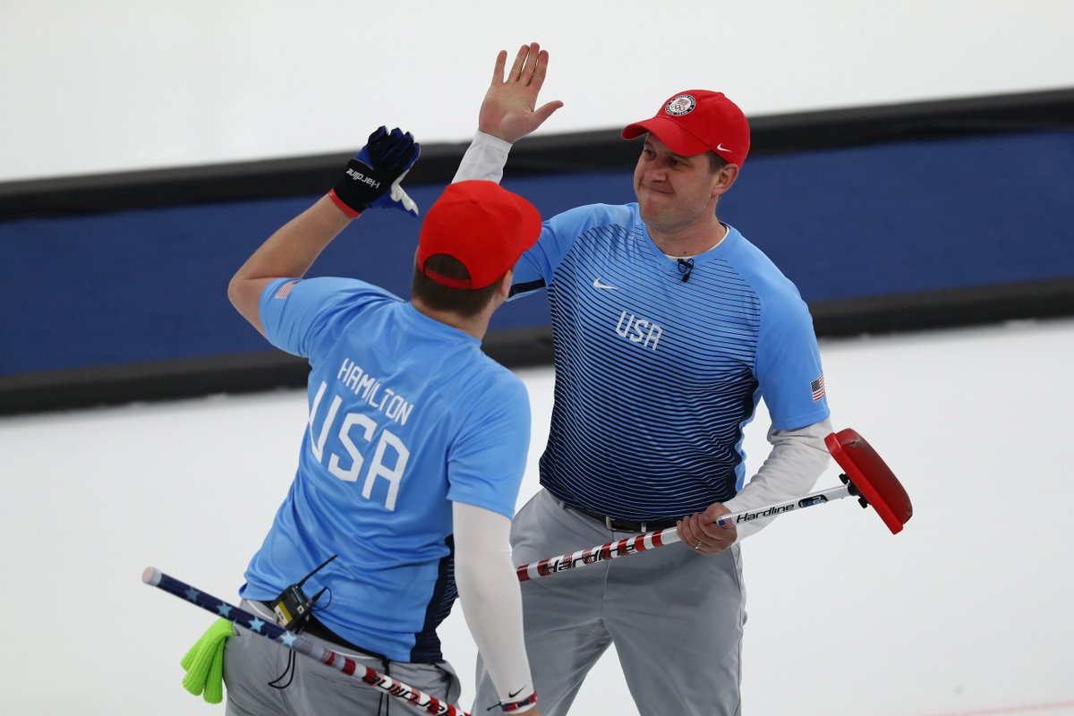 BREAKING: U.S. men's curling team wins its first ever gold medal, beating Sweden 10-7 #WinterOlympics