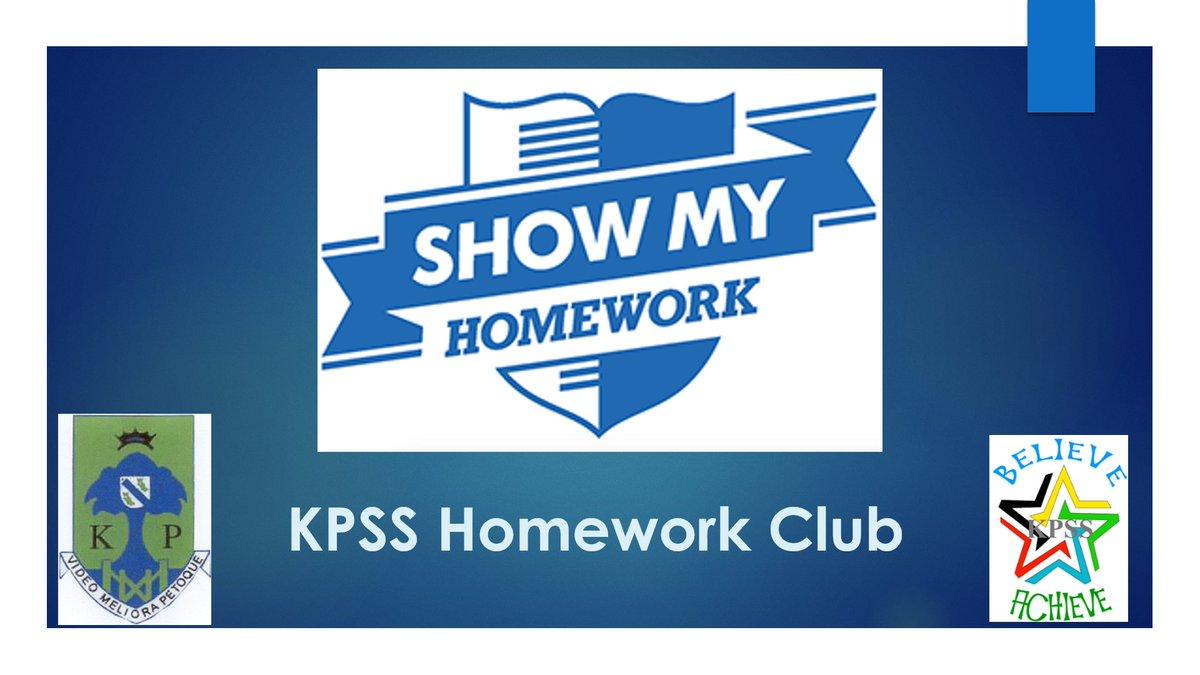 khs show my homework