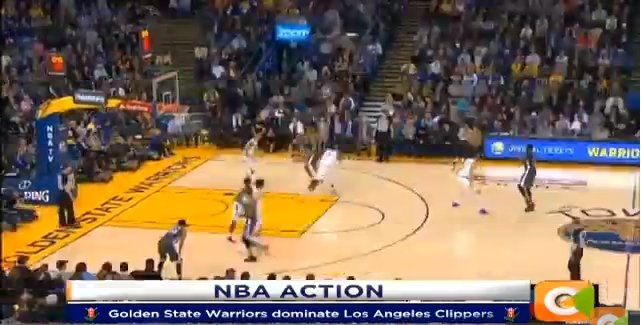 Golden State Warriors dominate Los Angeles Clippers #CitizenLiveAt1